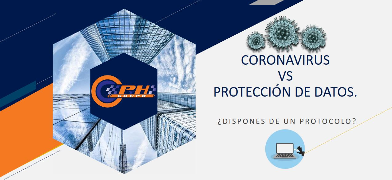 coronavirus vs proteccion de datos